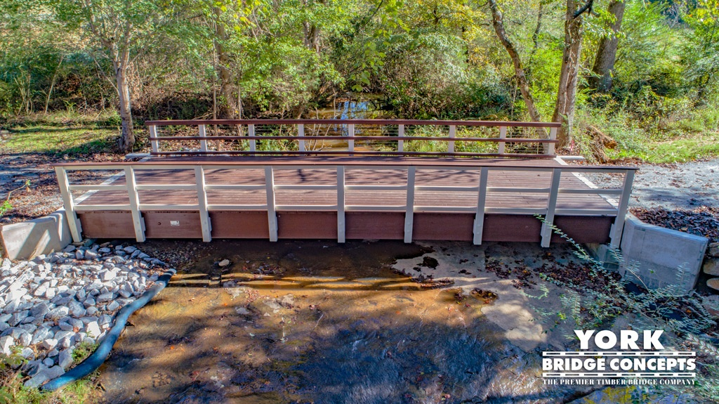 Solar Farms Light Vehicular Timber Bridge in Liberty, SC