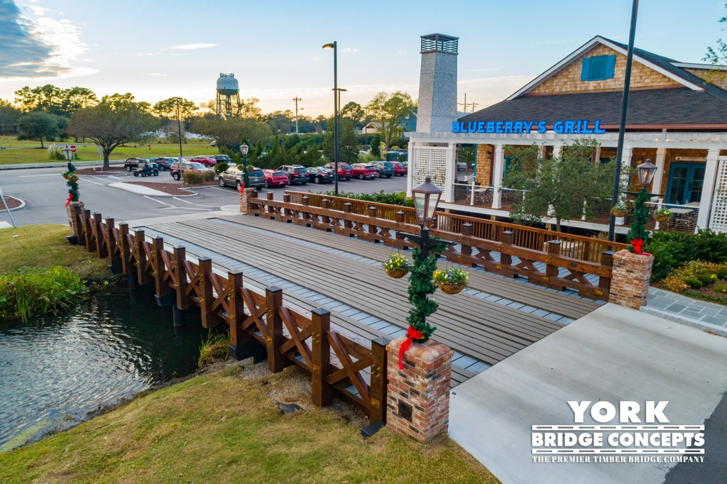 Barefoot Landing Timber Vehicular Bridge Design - Myrtle Beach, SC | York Bridge Concepts