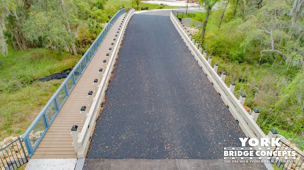 Bridgehaven at Citrus Park Timber Vehicular Bridge | Tampa, FL | York Bridge Concepts