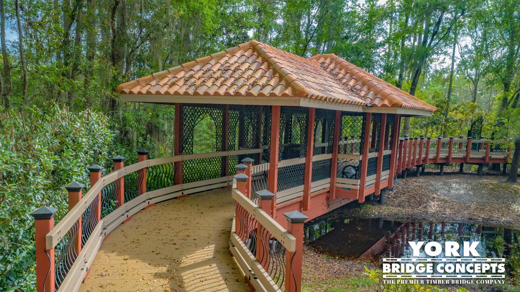 Sienna Village Timber Covered Boardwalk – Lutz, FL | York Bridge Concepts
