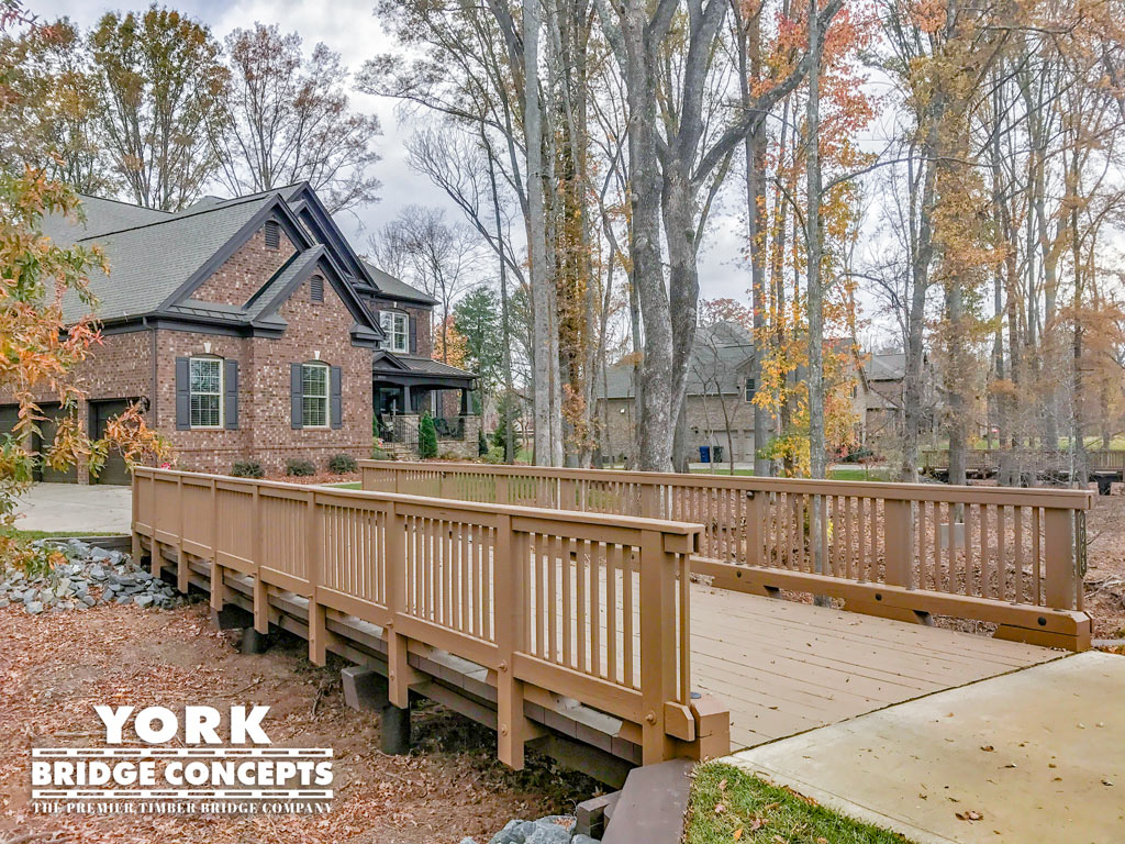 Preserve at Marvin Residential Driveway Bridges - Marvin, NC | York Bridge Concepts