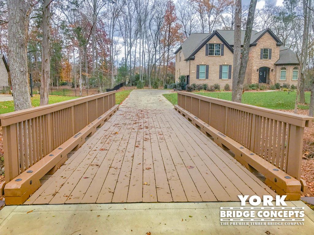Preserve at Marvin Residential Driveway Bridges - Marvin, NC | York Bridge Concepts