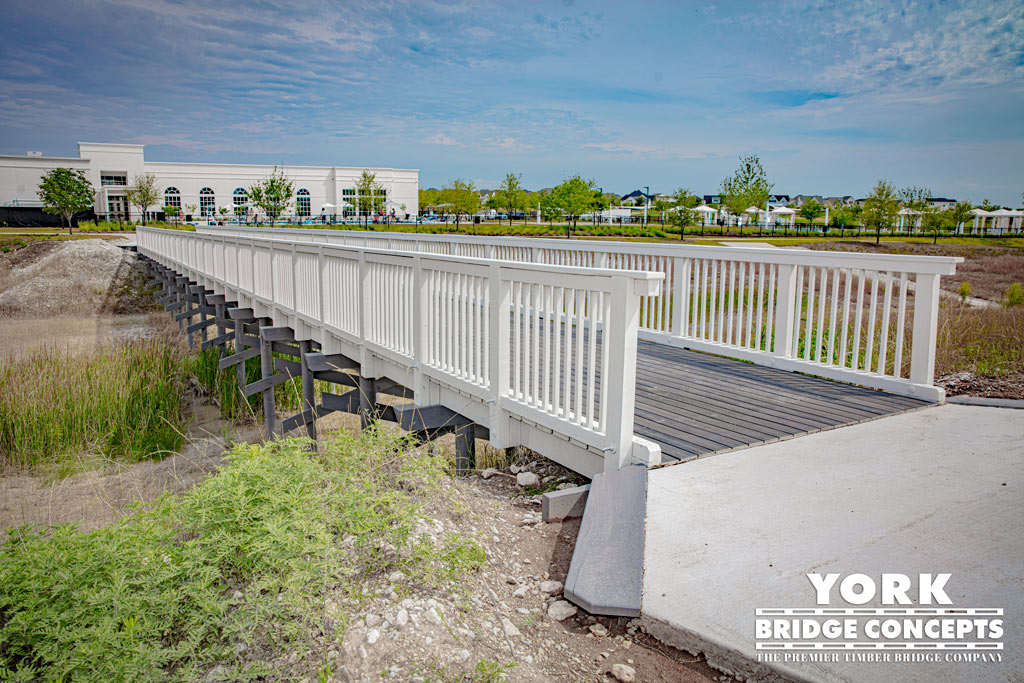 Walsh Timber Pedestrian Bridge - Ft. Worth, TX | York Bridge Concepts