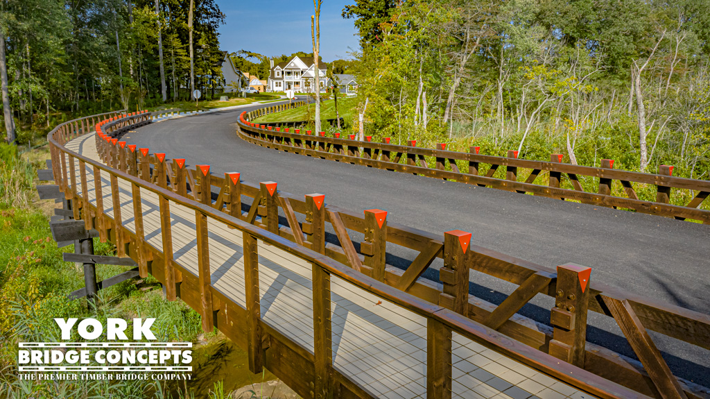 Coastal Club Timber Vehicular Bridge | Lewes, DE | York Bridge