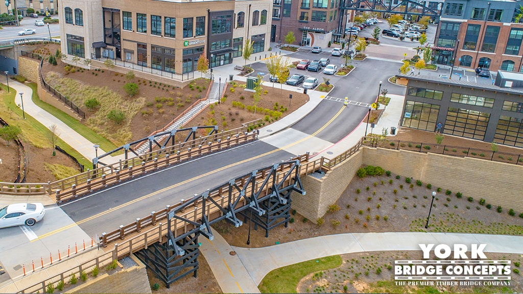 Timber Bridges for Mixed-Use Developments