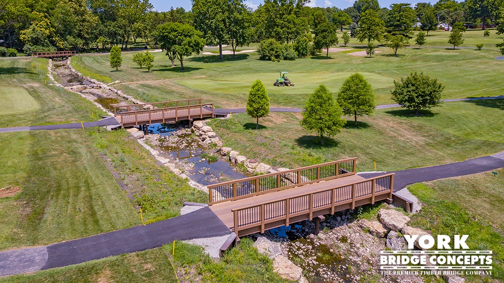 Timber Bridges on Golf Courses