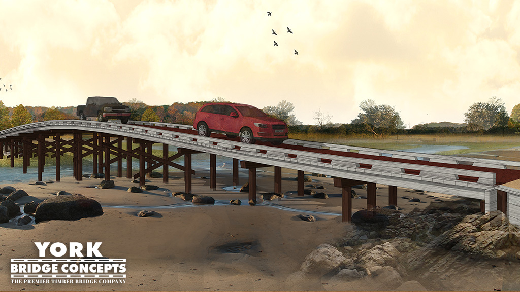 Vehicular Bridge Concept | Timber Bridge Design | Bridge Plans