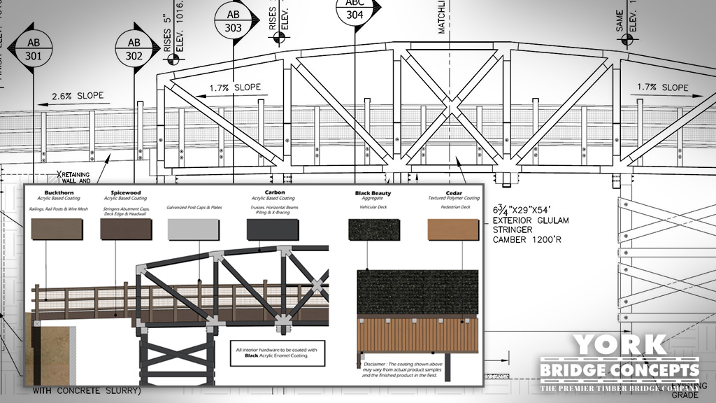 CAD Files & Specifications for Timber Bridges