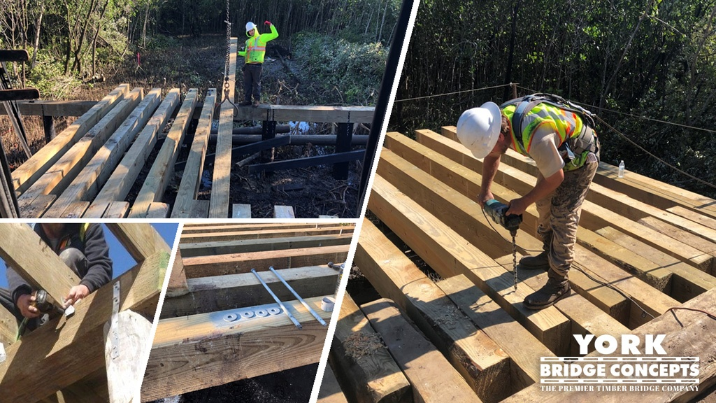 Timber Bridges in Commercial Development