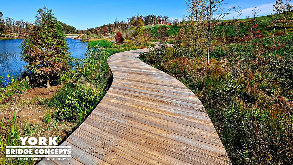 Timber Bridges for Parks & Recreation Areas