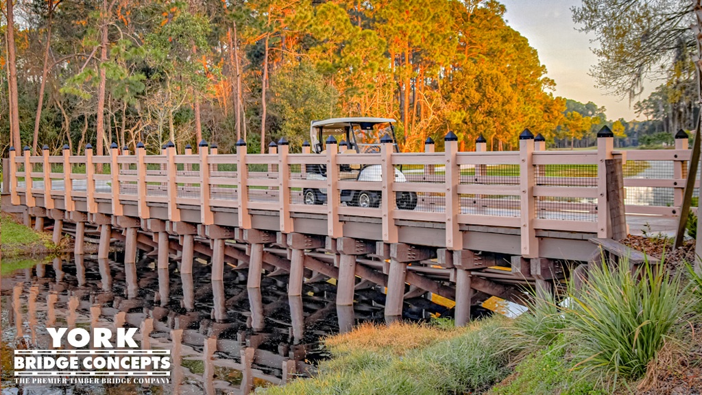 10-Ton GVW Load Capacity Timber Bridges