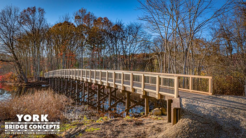 Pedestrian Timber Bridge Gallery