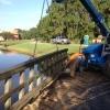 Tranquilo Golf Cart Bridge - Construction Process (2)