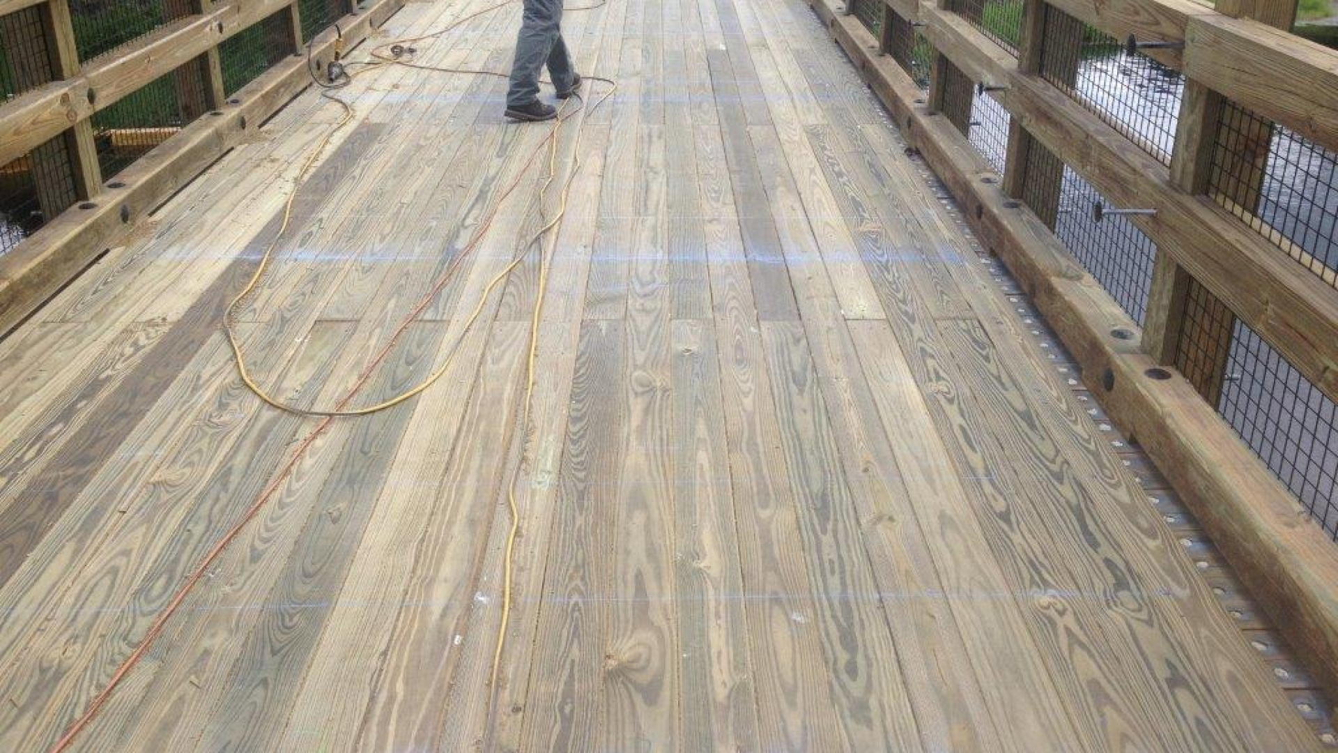 Tranquilo Golf Cart Bridge - Construction Process (23)