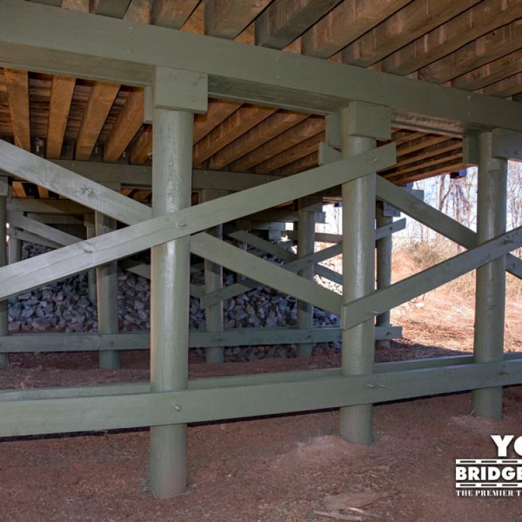 Town Village Vehicular Bridge Substructure